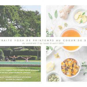 Retraite Yoga Printemps 2021 – Bastide du Bois Bréant