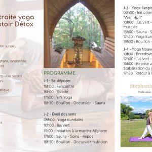 Retraite Jeûne Yoga & Randonnée 2021