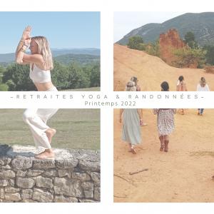 Randonnée et yoga en Luberon avec Nomade Aventure (Printemps)